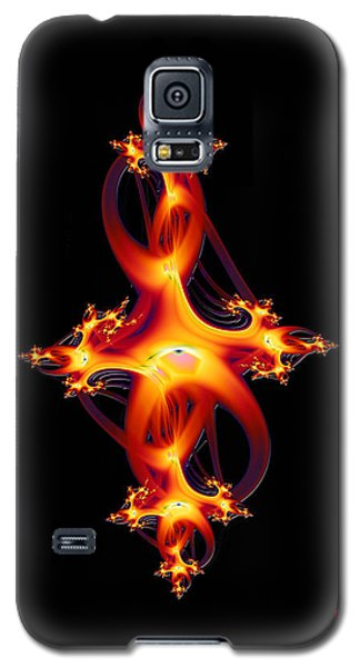 Red Jewel Galaxy S5 Case by David Jenkins