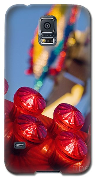 Red Lights At The County Fair Galaxy S5 Case