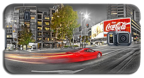 Red Lights Sydney Nights Galaxy S5 Case