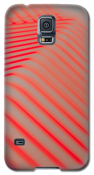 Red Lines Galaxy S5 Case