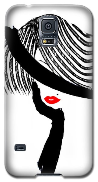 Red Lips Galaxy S5 Case