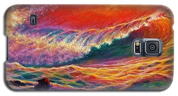 Red Mist Galaxy S5 Case