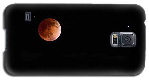 Red Moon And Spica By Denise Dube Galaxy S5 Case