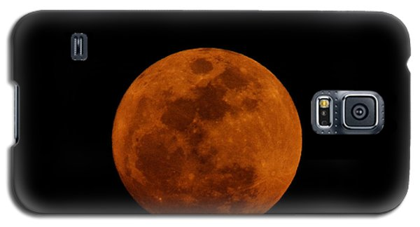 Red Moon Galaxy S5 Case by Bradford Martin
