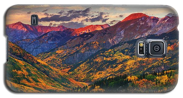 Red Mountain Pass Sunset Galaxy S5 Case