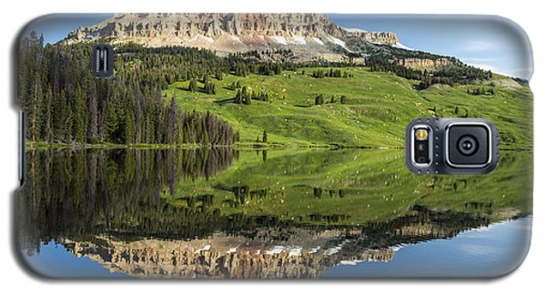 Red Mountain Reflection Galaxy S5 Case