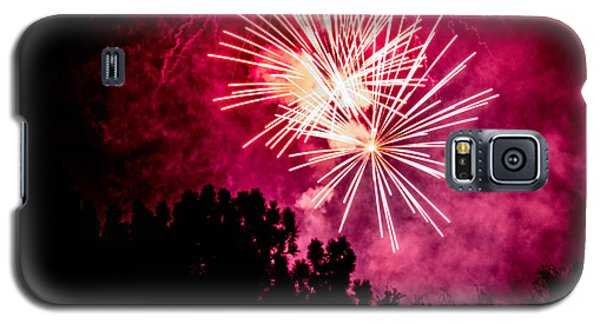 Red Night Galaxy S5 Case by Suzanne Luft