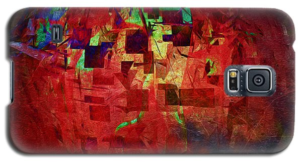 Galaxy S5 Case featuring the photograph Red No 1 by James Bethanis