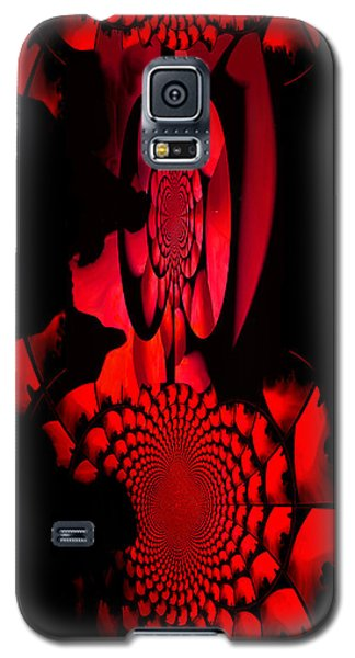 Galaxy S5 Case featuring the painting Red October Iphone Case by Robert Kernodle