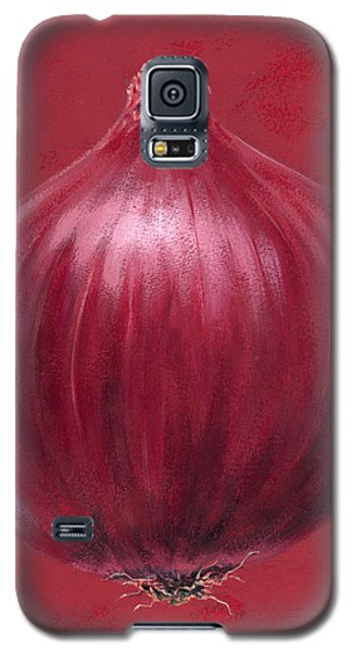 Red Onion Galaxy S5 Case by Brian James