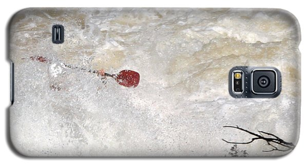 Galaxy S5 Case featuring the photograph Red Paddle by Carol Lynn Coronios