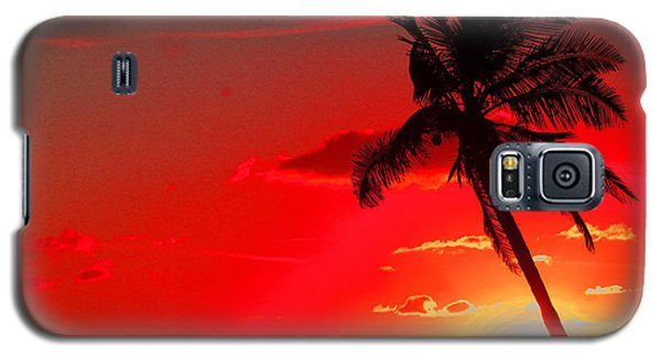 Red Palm Galaxy S5 Case