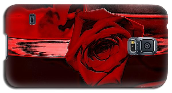 Red Passion. Rose Galaxy S5 Case