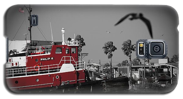 Red Pop Tugboat Galaxy S5 Case