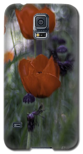 Red Poppies Galaxy S5 Case by Jean OKeeffe Macro Abundance Art