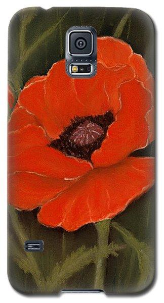 Red Poppy Galaxy S5 Case by Anastasiya Malakhova