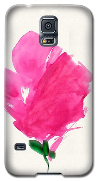 Red Poppy Galaxy S5 Case by Frank Bright