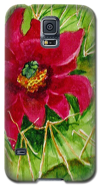 Red Prickly Pear Galaxy S5 Case