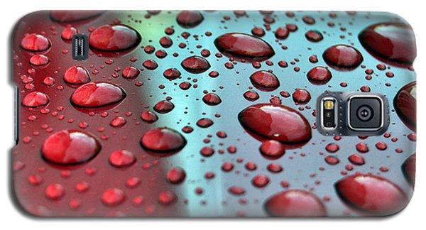 Red Rain Galaxy S5 Case