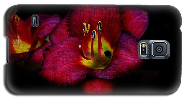 Red Red Lily Galaxy S5 Case