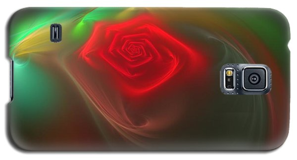 Red Red Rose Galaxy S5 Case