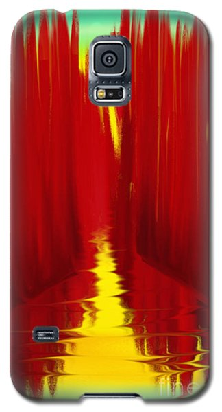 Red Reed River Galaxy S5 Case