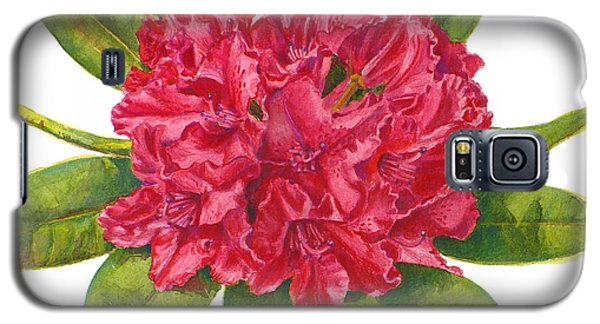 Red Rhododendron  Galaxy S5 Case