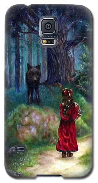 Red Riding Hood Galaxy S5 Case by Heather Calderon