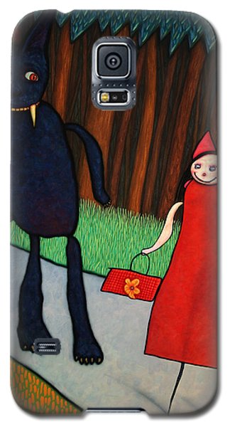 Fairy Galaxy S5 Case - Red Ridinghood by James W Johnson