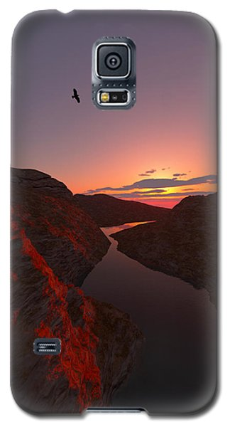 Red River... Galaxy S5 Case by Tim Fillingim