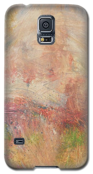 Galaxy S5 Case featuring the painting Red Road In Sunlight by John Fish
