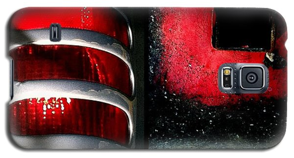 Red Road Rage Galaxy S5 Case