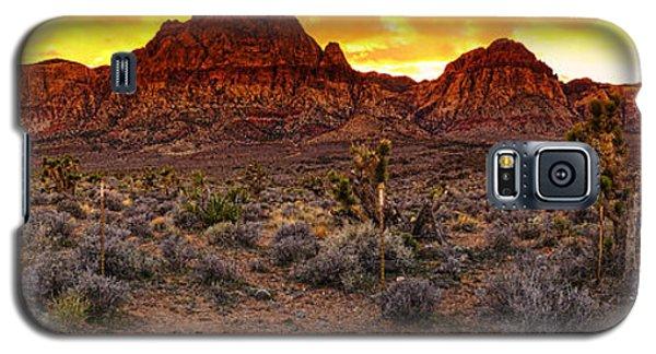 Red Rock Canyon Las Vegas Nevada Fenced Wonder Galaxy S5 Case