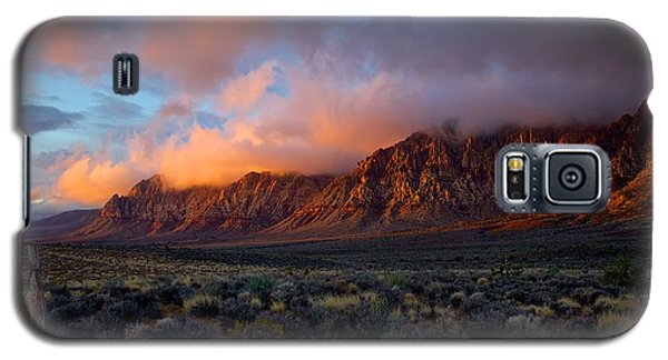 Galaxy S5 Case featuring the photograph Red Rock Canyon National Conservation Area Las Vegas by Michael Rogers