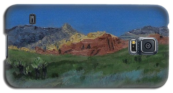 Red Rock Canyon Panorama Galaxy S5 Case