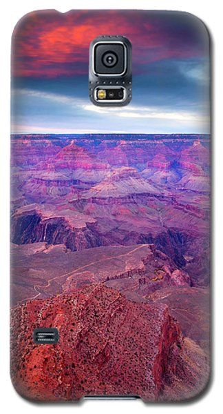 Red Rock Dusk Galaxy S5 Case by Mike  Dawson