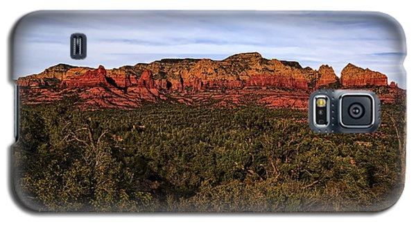 Red Rock Golden Hour 26 Galaxy S5 Case