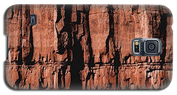 Red Rock Wall Galaxy S5 Case