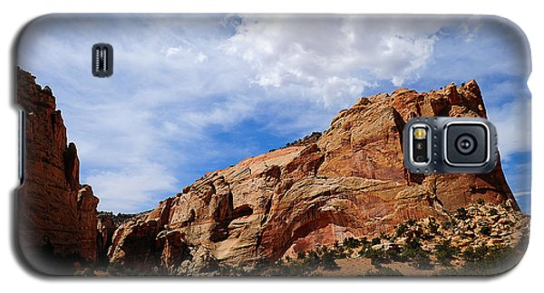 Red Rocks Galaxy S5 Case by Donald Fink