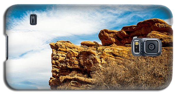 Red Rocks Dragon Galaxy S5 Case by Todd Soderstrom