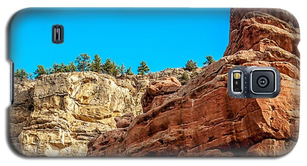 Red Rocks View 002 Galaxy S5 Case by Todd Soderstrom
