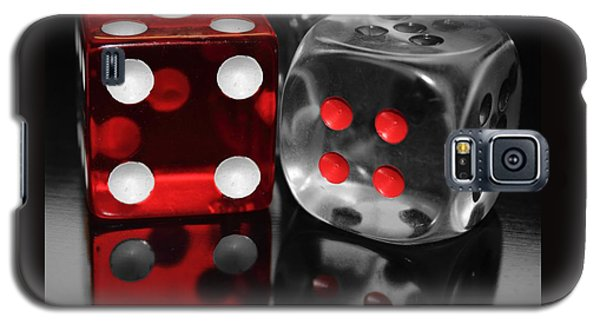 Red Rollers Galaxy S5 Case by Shane Bechler