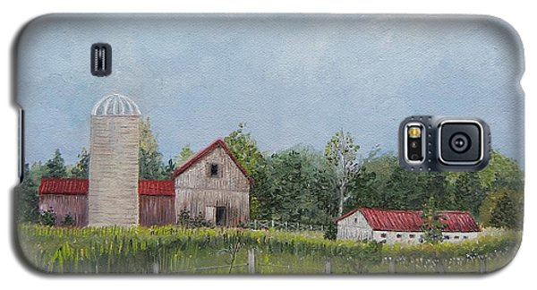 Red Roof Barns Galaxy S5 Case