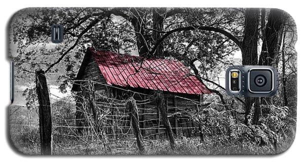 Red Roof Galaxy S5 Case by Debra and Dave Vanderlaan