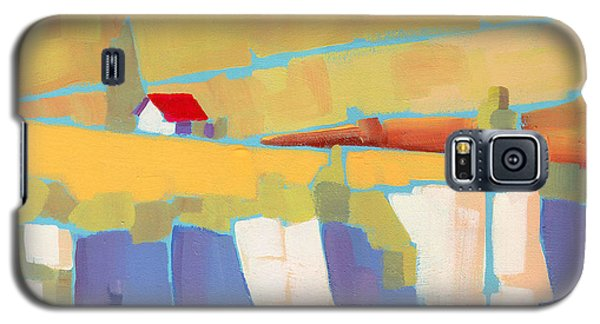Red Roof Landscape Galaxy S5 Case