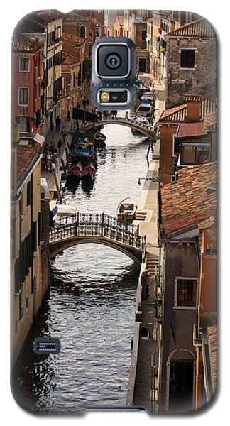 Red Roofs Of Venice Galaxy S5 Case