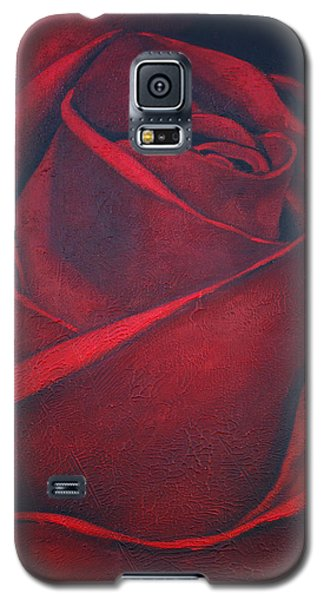 Red Rose Galaxy S5 Case