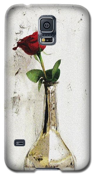 Red Rose Love Galaxy S5 Case