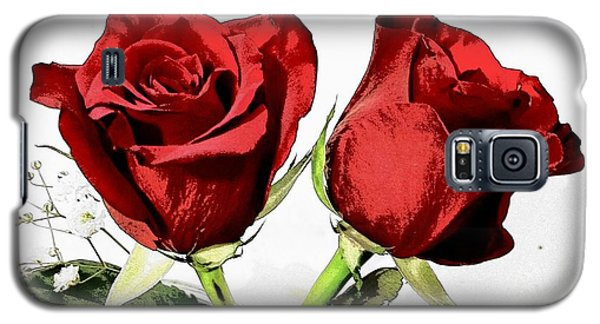 Red Roses 3 Galaxy S5 Case