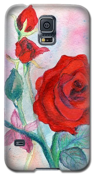 Red Roses Galaxy S5 Case